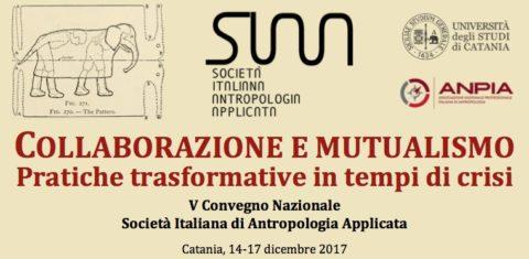 V Convegno Nazionale SIAA 14-17 Dicembre 2017, Catania