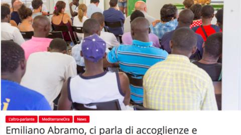 La Commissione MAM intervista Emiliano Abramo, Presidente della Comunità di Sant'Egidio di Catania