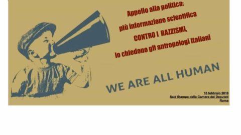 Appello alla politica contro i razzismi ITA/ENG