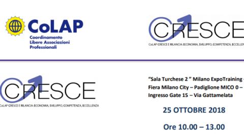 #CCresce, il nuovo evento del Colap