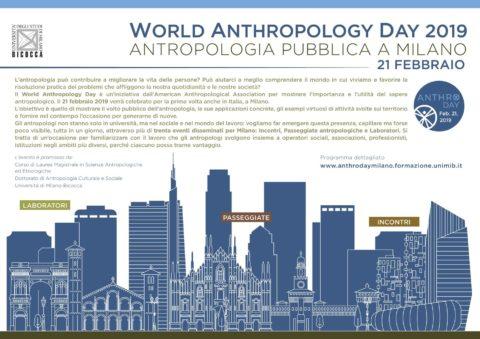 Il volto pubblico dell'antropologia – EVENTO INAUGURALE