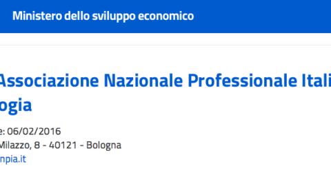 Il Ministero dello Sviluppo Economico accredita ANPIA (Associazione Nazionale Professionale di Antropologia)
