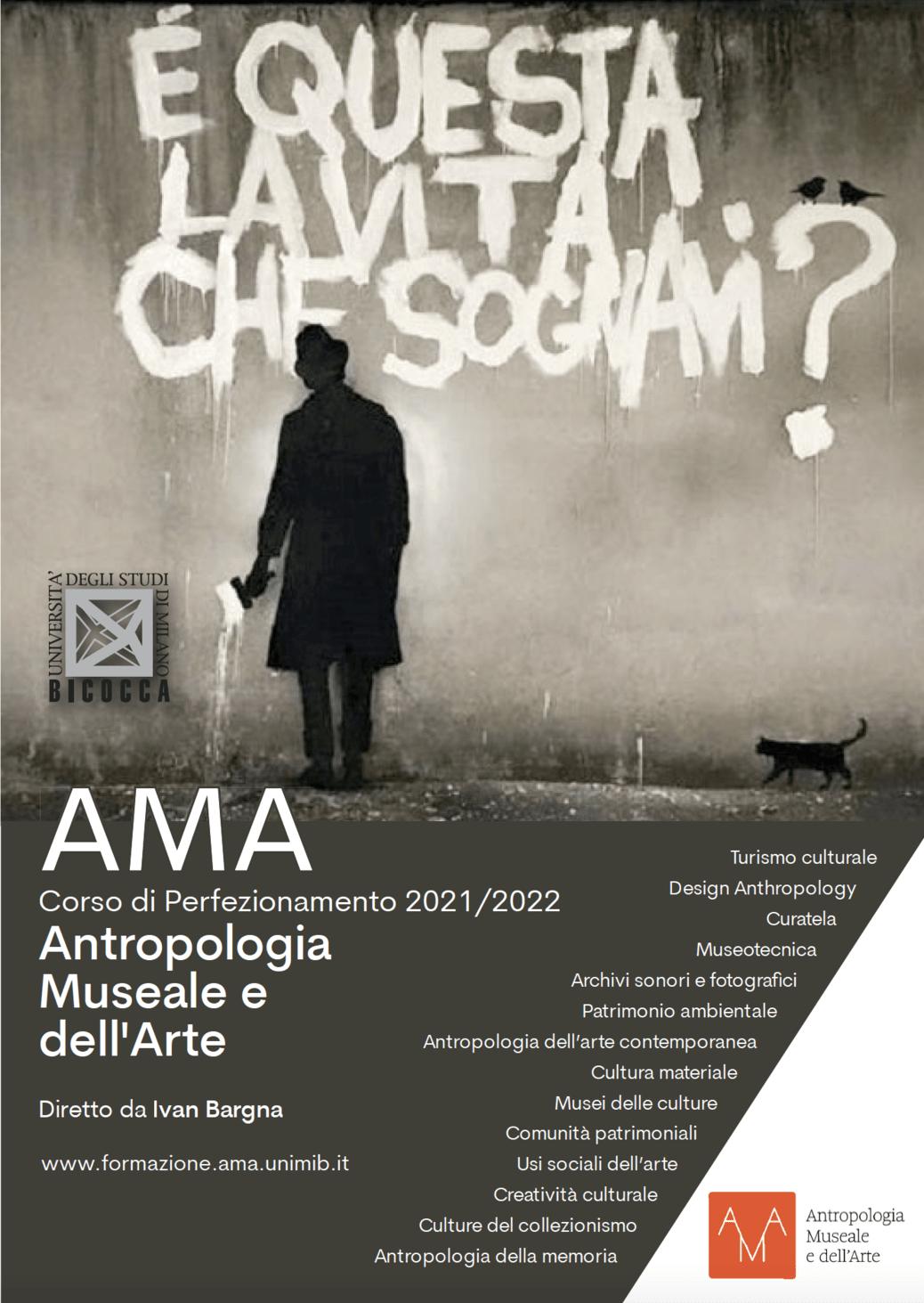 AMA - Corso di perfezionamento 2021/2022 in beni demo-etno-antropologici