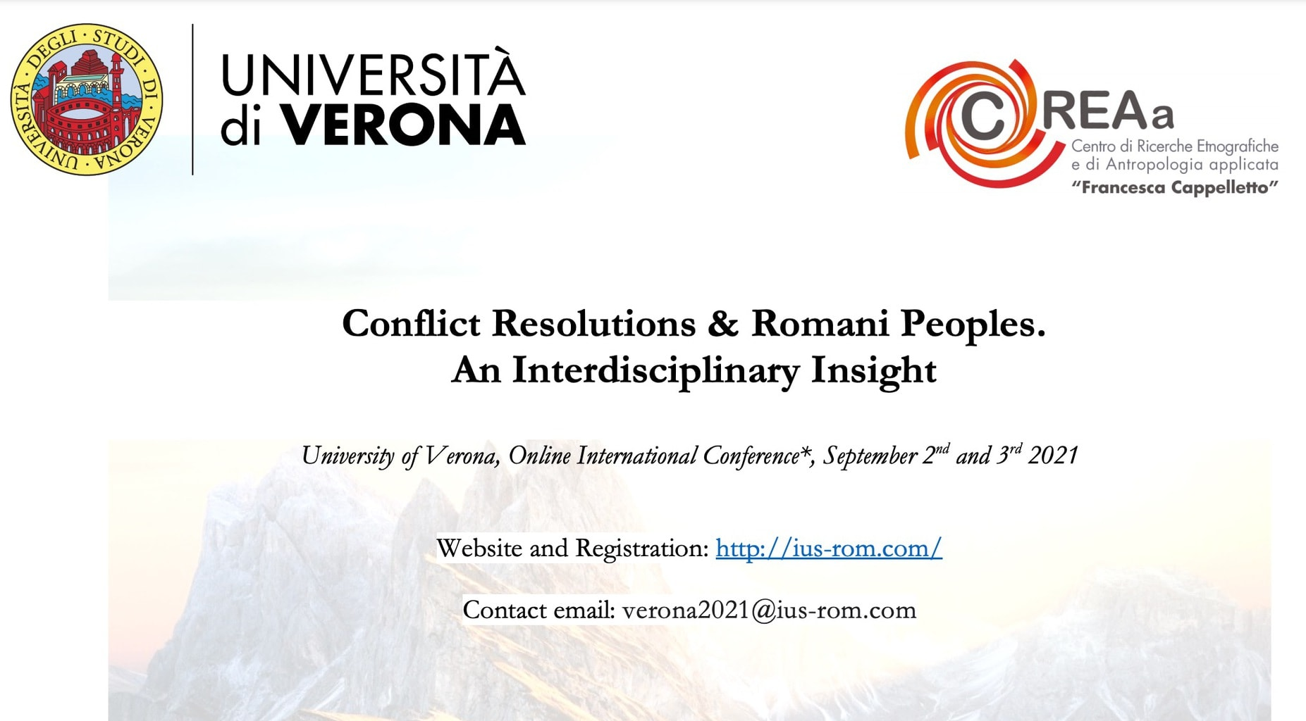 Conflict Resolutions & Romani Peoples  An Interdisciplinary Insight